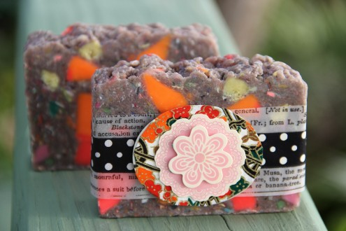 Carnival Soap with Giesha Wrap
