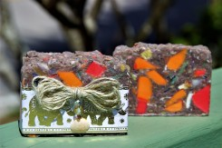 Carnival Soap with shell and elephants